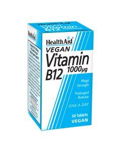 Health Aid - Vitamin B12 (Cyanocobalamin) 1000µg