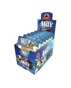 Max Protein - Black Max Total Choc Protein Cookies - White Choc Box Of 12