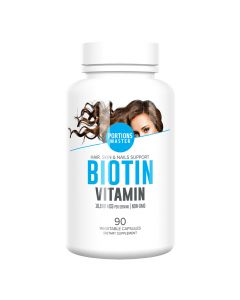 Portions Master - Biotin Vitamin 10,000 mcg