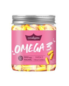 GymQueen - Omega 3 - 1000mg Fish Oil
