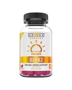 Zhou - D3 + K2 Immune + Mood Support