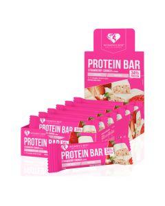 وومنز بيست بروتين بار - نكهة الفراولة - صندوق 12 بار