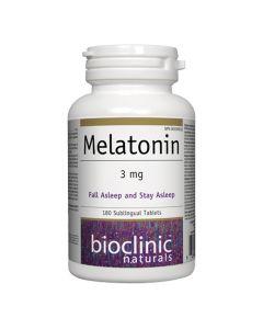 Bioclinic Naturals - Melatonin 3 mg