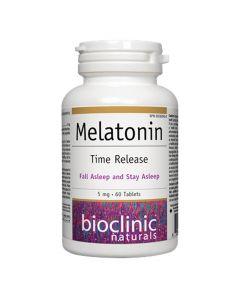 Bioclinic Naturals - Melatonin 5 mg Time Release