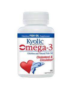 Kyolic - Aged Garlic Extract - Omega-3 - Cholesterol & Circulation