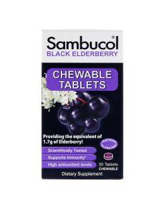 Sambucal - Black Elderberry Chewable Tablets