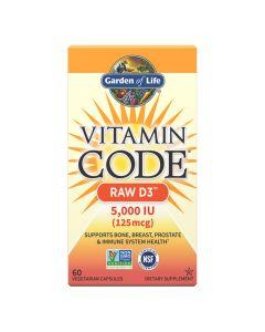 Garden Of Life - Vitamin Code Raw D3 5000 iu