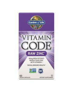 Garden Of Life - Vitamin Code Raw Zinc