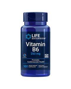 لايف إكستينشن - فيتامين ب6 250 مغ
