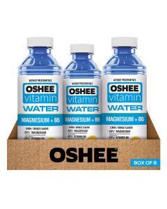 Oshee - Vitamin Water - Mg + B6 - Box Of 6