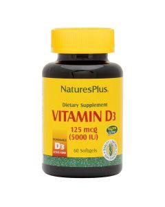 Natures Plus - Vitamin D3 5000 IU