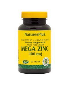 Natures Plus - Mega Zinc 100 mg Sustained Release