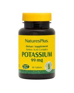 Natures Plus - Potassium 99 mg