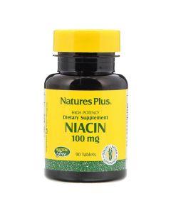 Natures Plus - Niacin 100 mg