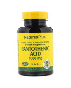 Natures Plus - Pantothenic Acid 1000 mg