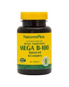 Natures Plus - Mega B-100 Balanced B-Complex