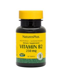 Natures Plus - Vitamin B2 250 mg Sustained Release