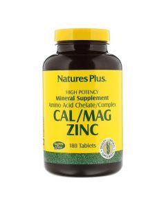 Natures Plus - Calcium Magnesium Zinc