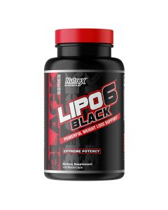 Nutrex Research - Lipo6 Black Powerful Weight Loss Support