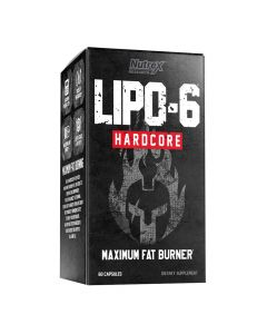 Nutrex Research - Lipo-6 Hardcore Maximum Fat Burner