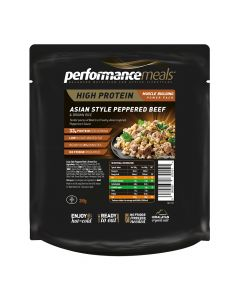Performance Meals - Asian Peppered Beef