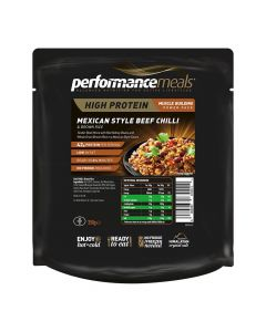 Performance Meals - Mexican Beef Chili