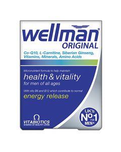 VitaBiotics - Wellman - Health, Vitality & Energy Release Capsules