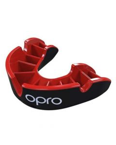 Opro - Self-Fit Silver Mouthguard - Junior