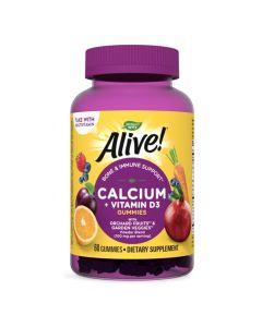 Natures Way - Alive! Calcium + Vitamin D3 Gummy