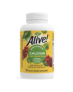 Natures Way - Alive! Bone Support Calcium Max Absorption