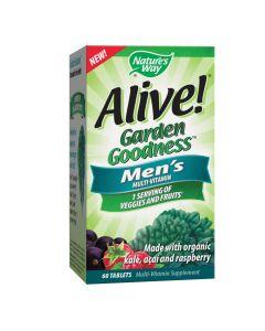 Natures Way - Alive! Garden Goodness For Men
