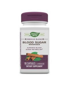 Natures Way - Blood Sugar Manager