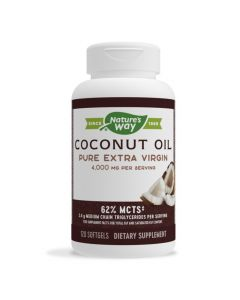 Natures Way - Coconut Oil Pure Extra Virgin 4000 mg