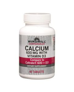 Windmill - Calcium 600 MG with Vitamin D3