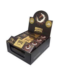 مسل شيف -بريميوم شوكولاتة بلجيكية - شوكولاتة داكنة - صندوق 12 قطعة