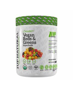 1UP Nutrition - 1UP Natural Organic Vegan Greens & Reds Superfoods