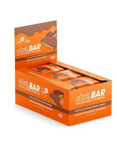Obvi - Protein Bars - Chocolate Peanut Butter Crunch - Box of 12