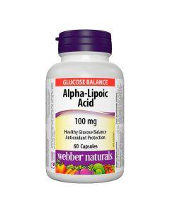 Webber Naturals - Alpha-Lipoic Acid100 mg