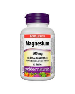 ويبير ناتشورالز - مغنيسيوم 500 مغ امتصاص عالي
