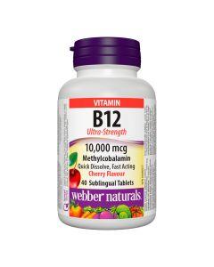 Webber Naturals - Vitamin B12 Ultra-Strength 10,000 mcg