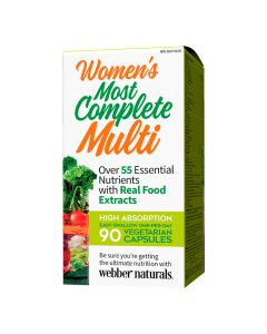 Webber Naturals - Women's Most Complete Multi