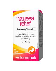 Webber Naturals - Nausea Relief - For Queasy Stomach