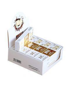 مسل شيف -بريميوم شوكولاتة بلجيكية - شوكولاتة بيضاء - صندوق 12 قطعة