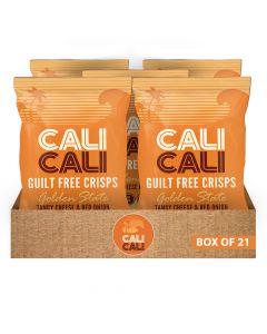 كالي كالي - جولدن ستيت تانغي جبنة وبصل صندوق 21 قطعة