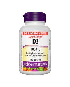 Webber Naturals - VitaminD31000IU