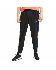 Puma DryCell - Reactive Packable Pants - Black-Galaxy/Nrgy Red