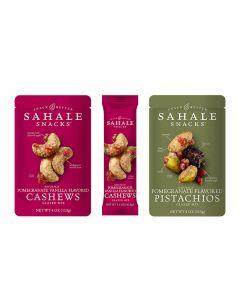 Sahale Snacks Naturally Pomegranate Cashews Glazed Mix - Box of 3