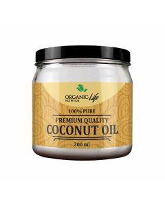 Organic Life Nutrition Coconut Oil