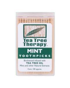 Tea Tree Therapy - Mint Toothpicks