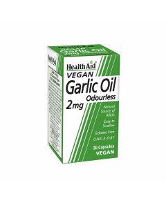 HealthAid Vegan Garlic Oil 2mg Odourless